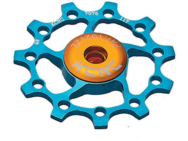 KCNC Jockey Wheel 10T Ceramic Bearing, blue